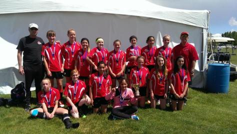 Xtreme U13 Girls-Champions at Director's Cup 2014.